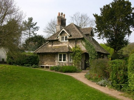 English Cottage House Fairy Tale Cottage Houses