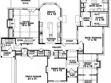 5 bedroom house plans with 2 master suites small house interiors small 1 bedroom house plans one 21221