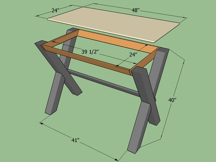 How to Build a Simple Desk DIY How to Build a House in Minecraft