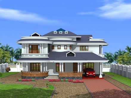 Kerala House Exterior Designs Small House Exterior Design