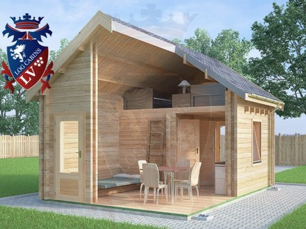 Tiny timber frame cabin small cabin plans micro cottages for 20x24 cabin with loft