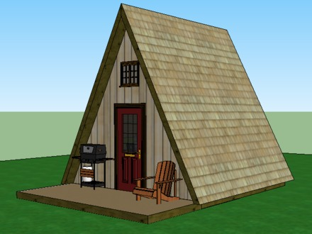 Mini a Frame Cabins Tiny a Frame Cabin Plans