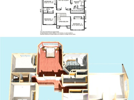 Red Brick Colonial Homes Colonial Home Additions Floor Plans