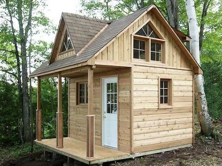 Small Cabin Floor Plans Small Cabin Plans with Loft Kits