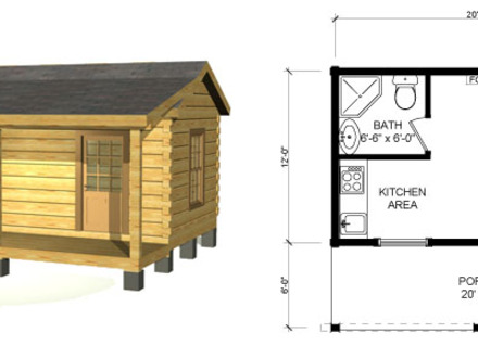 Small Log Cabin Homes Floor Plans Small Log Cabin Plans