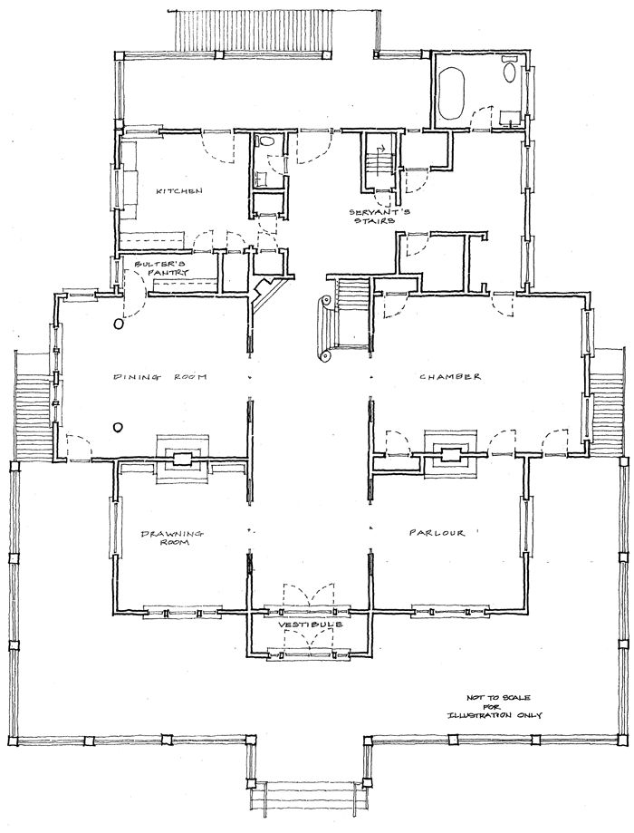 Two story luxury home floor plans historic home floor for Historic victorian house plans