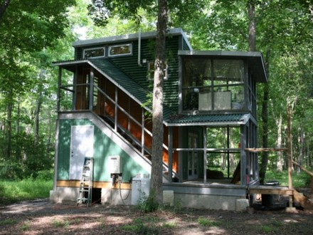 Two-Story Tiny Houses Inside Two Story Tiny House