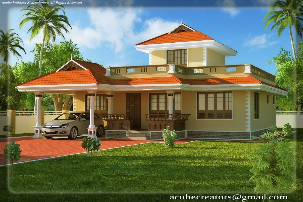 Beautiful house plans rear view house beautiful plans in Rear view home plans