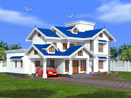Bungalow House Designs Indian House Designs