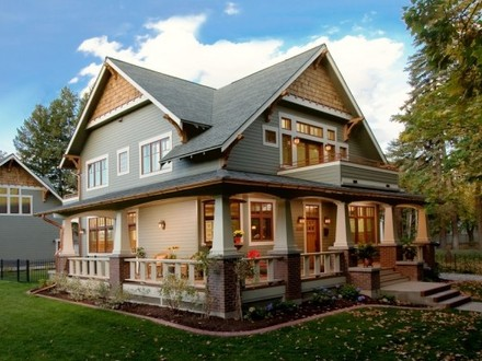 Craftsman Style Homes Wrap around Porch Ranch Style Homes Craftsman