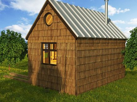 DIY Small Cabin Plans 24X24 Cabin Plans with Loft