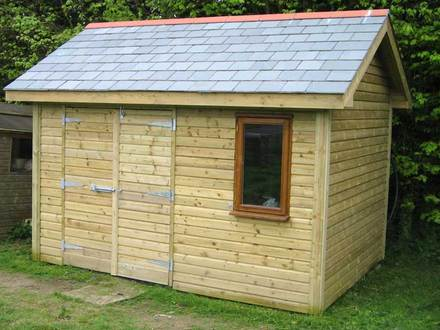 Easy DIY Storage Shed DIY Garden Shed
