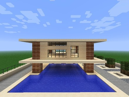 Easy Minecraft Modern House Easy Small Minecraft Houses