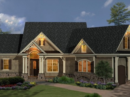 English Country House French Country Homes House Plans