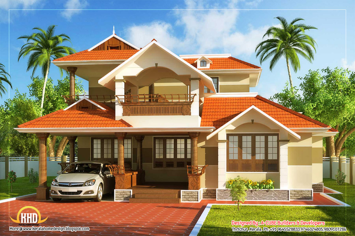 Kerala Style House Design Normal House In Kerala Indian