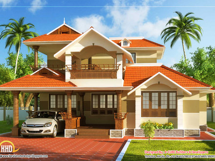 Good house plans in kerala house plans kerala home design for Normal house design in indian