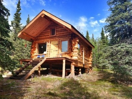 Log Cabin Tiny House Alaska Tiny Houses Log Cabin One Levels