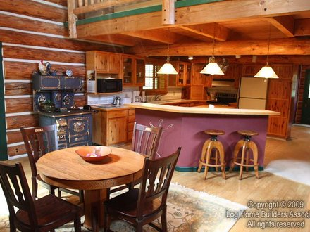 Log Homes with Open Floor Plans Shut Log Home With