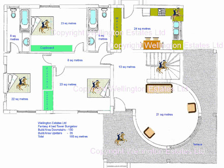 Residential House Plans 4 Bedrooms 4 Bedroom Bungalow Floor Plan