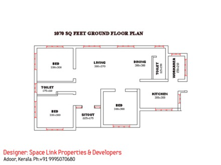 Single Floor House Plans with Open Design Single Floor House Floor Plans