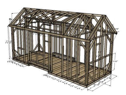SketchUp Tiny House Plans Tumbleweed Tiny House Floor Plans