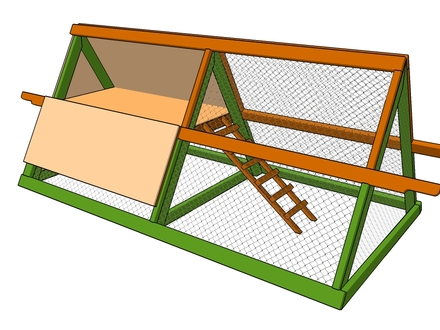 Small Chicken Coops Simple Chicken Co op Plans