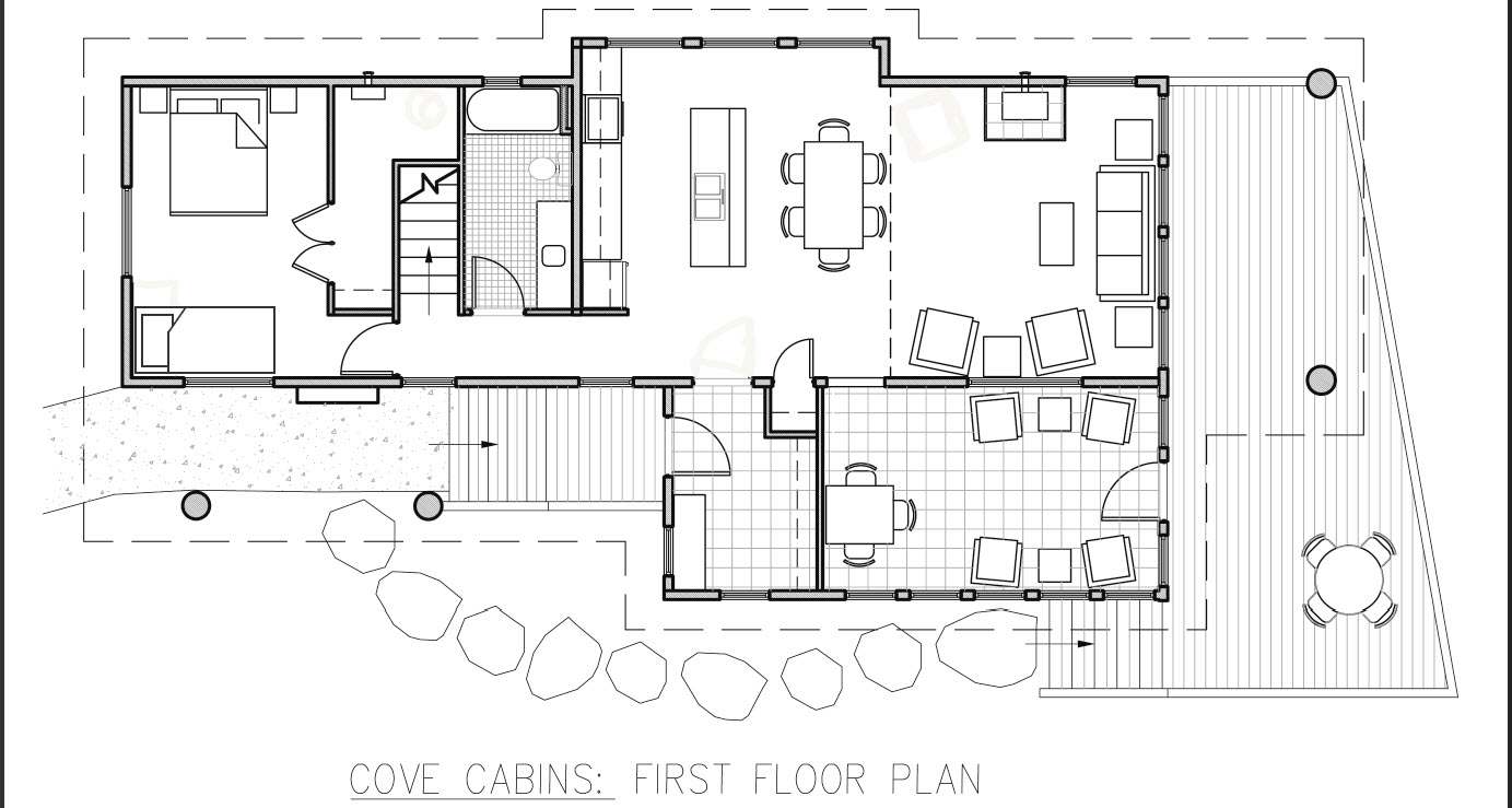 Hunting Cabin Interior Do It Yourself Hunting Cabins: Small Hunting Cabin Floor Plans Small Hunting Cabin
