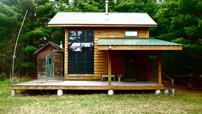 Small Log Cabins DIY Off Grid Cabin