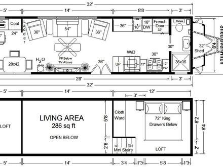 Tiny Houses On Wheels Dealers Tiny Houses On Wheels Floor Plans
