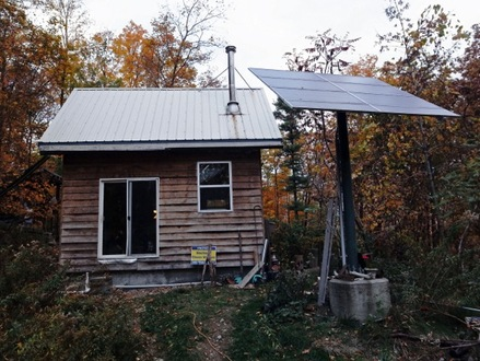 Tiny Off Grid Cabin Wilderness Cabin Off-Grid Living