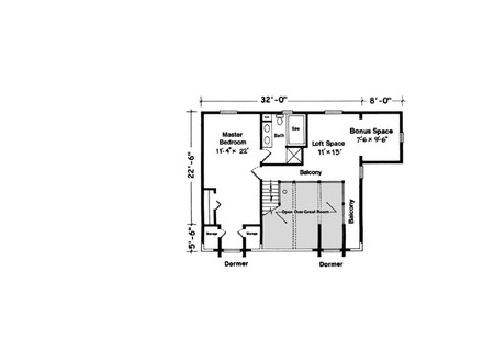 Sugarloaf cottage rustic mountain cottage house plans for Gt issa floor plans
