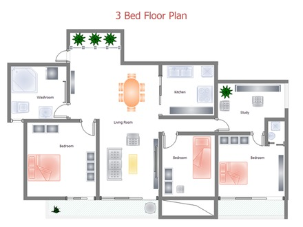 Building Floor Plan Layout Tower Apts Hallways Floor Plan Layout