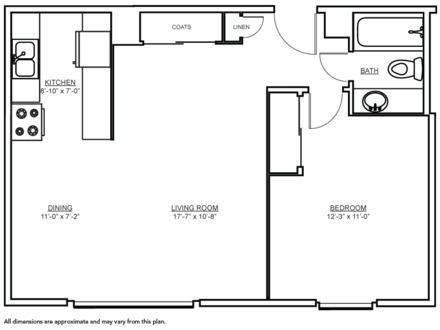 600 Square Feet Floor Plans 600 Square Feet Apartment Floor Plan