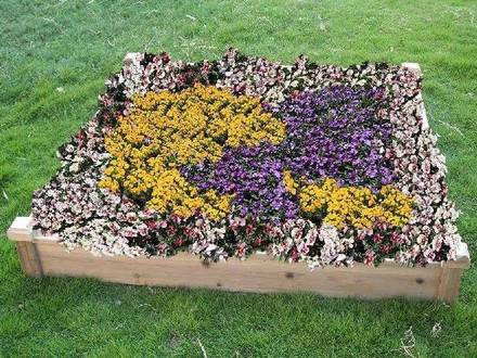 Flower Bed Layouts Raised Flower Bed