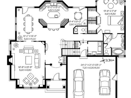 Modern House Floor Plans 3000 Square Foot Ultra- Modern House Plans