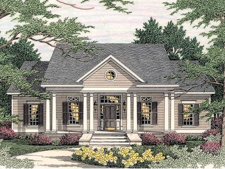 Small Southern Colonial House Plans Georgian Style House