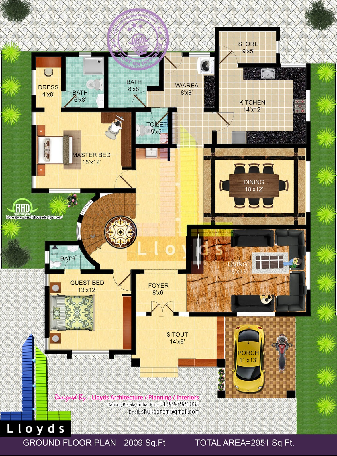 bedroom bungalow floor plan and 3D View Kerala home design and floor on bungalow house plans with basement, bungalow narrow lot house plan, bungalow floor plans, bungalow house designs, bungalow house plans french, bungalow house plans with attached garage, bungalow plan 3 bed room, bungalow house plans vintage, bungalow house plans beach, bungalow house plans with balcony, bungalow house plans in the philippines,