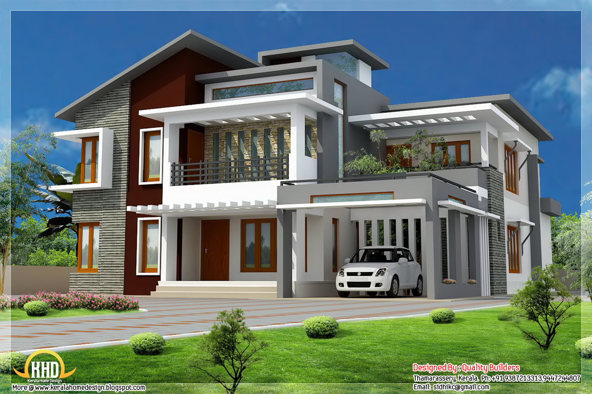 Modern Style House Design Modern Tropical House Design