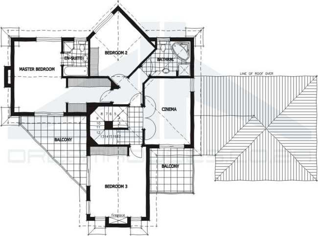 Ultra- Modern House Plans Modern House Floor Plans